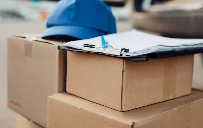 Blog parcel boxes and cap delivery service concept UMQF6GK e1579103940955 700x441